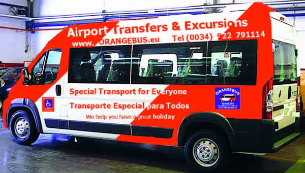 The specially adapted executive buses comply fully with the latest EC regulations