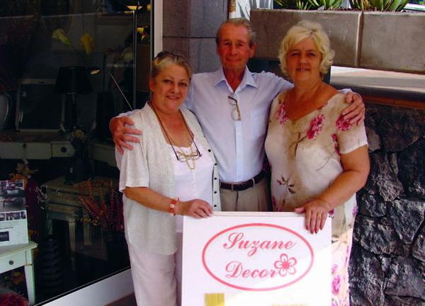 (l-r) Luciana, Howard and Marilyn