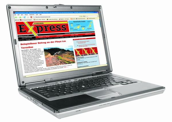 Alle Infos aus unserer Zeitung und noch Vieles mehr – ab sofort im Internet unter www.kanarenexpress.com