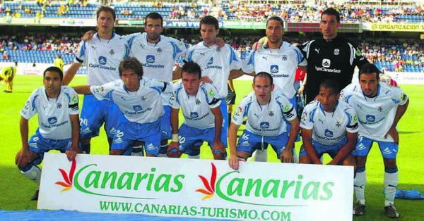 Die Mannschaft des CD Tenerife in der laufenden Saison 2007/2008