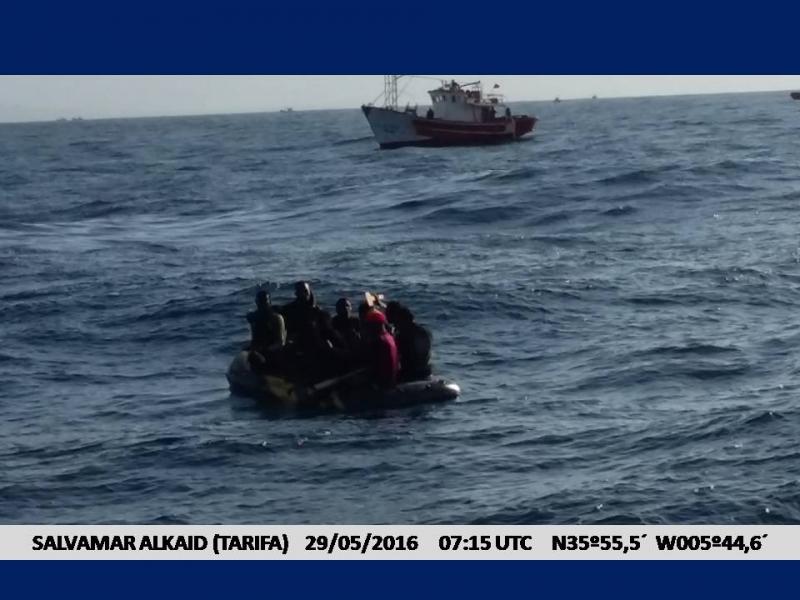 Sie sind in Sicherheit – wie viele den Weg über den Atlantik nicht überleben, weiß niemand…