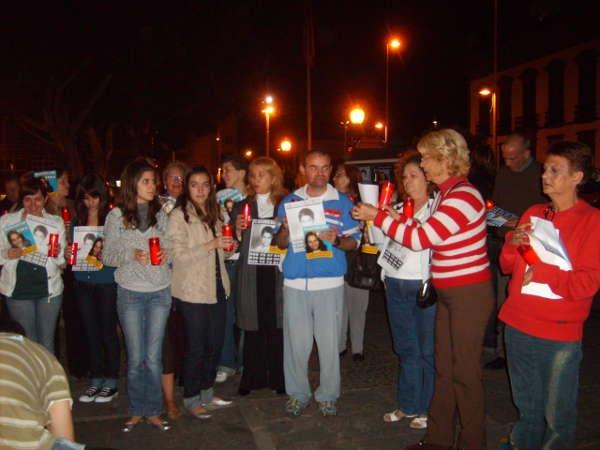 Nach dem Verschwinden von Yéremi und Sara gab es auch auf Teneriffa Demonstrationen, um auf das Schicksal der Kinder aufmerksam zu machen.