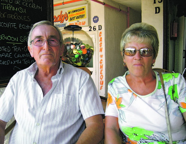 1. Pauline und Arthur, Costa Brava