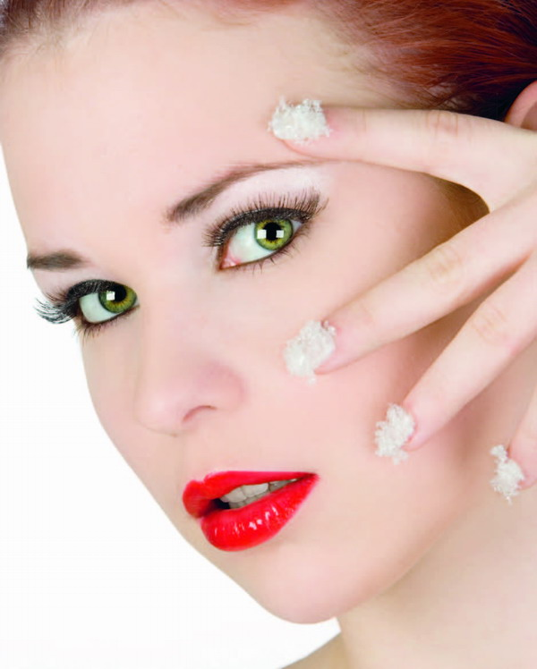 Many people are rather heavy handed when they put their make-up on at night