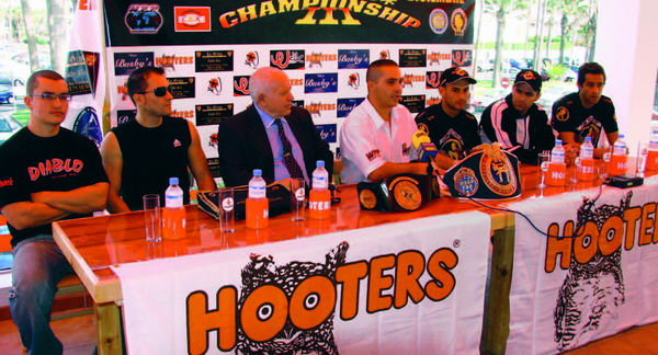 The launch of the event took place at Hooters