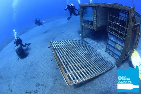 Eine ganz außergewöhnliche Idee nahm auf dem Meeresboden Gestalt an – die erste Unterwasserbodega der Kanaren und die größte Europas.