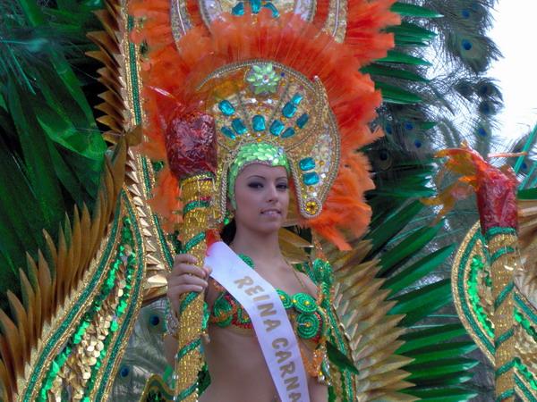 Puerto de la Cruz 2007 - Reina Carnaval - Die Karnevalskönigin