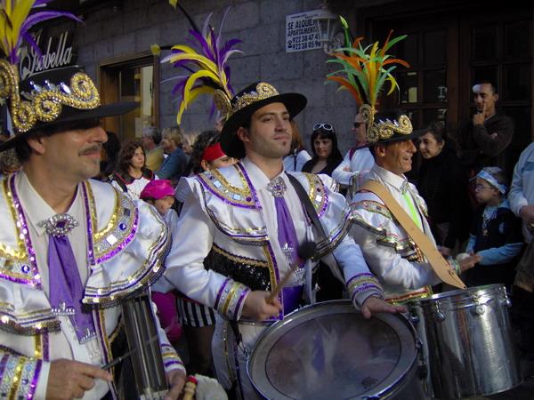 Karneval auf Teneriffa - Großer Umzug 2007 in Puerto de la Cruz