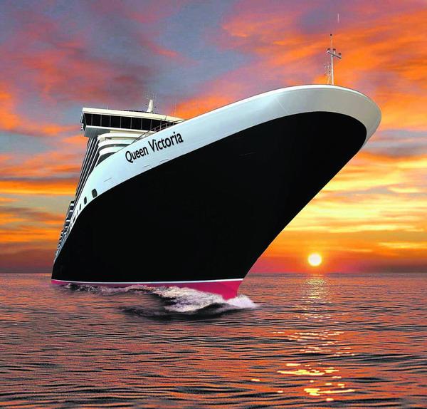 Die Queen Victoria befindet sich derzeit auf ihrer ersten Weltreise