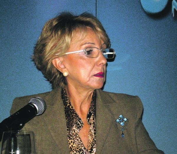 Die Präsidentin des CIT del Sur, María Rosales Alonso stellte die neue Kampagne vor