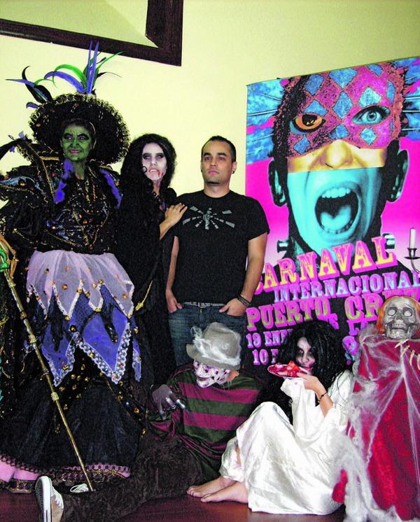 Schaurige Gestalten und Gänsehaut sind im diesjährigen Karneval inbegriffen.
