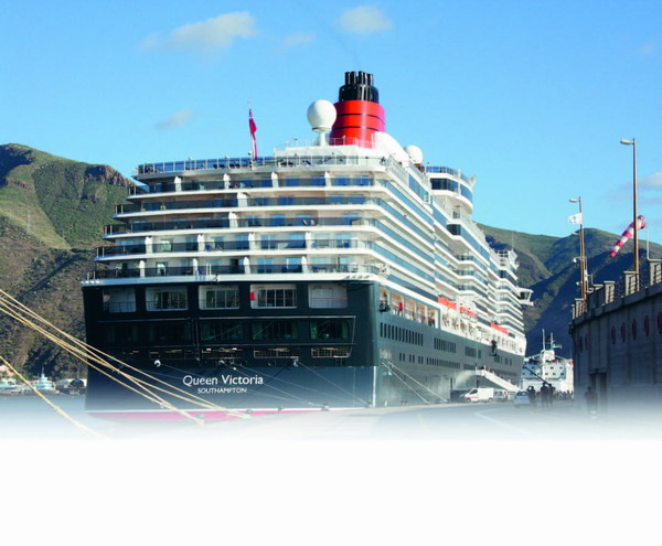 We couldn't resist a visit to Cunard's lovely and newest Queen during her stopover in Tenerife on New Year's Eve