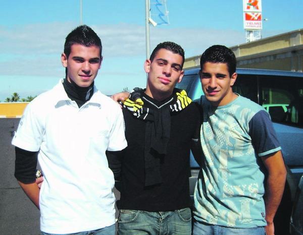 Rubén, Elias, Alexis La Orotava
