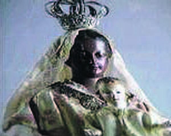 Die Skulptur der Virgen de Regla stammt aus dem 19. Jahrhundert