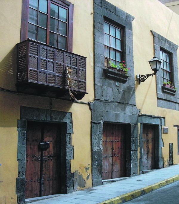 Die typische Architektur auf der Insel Gran Canaria, auf der die neunte Ausgabe der Architekturbiennale läuft