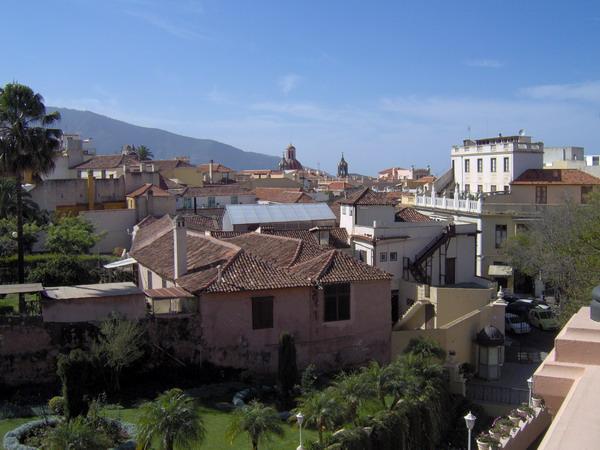 Blick von der Terrasse des Liceo Taoro