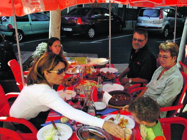 """""""La Rambla"""" ist ein richtiges Familienlokal"""