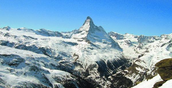 Das Matterhorn könnte 2010 zu einem der Sieben Naturwunder der Welt gewählt werden