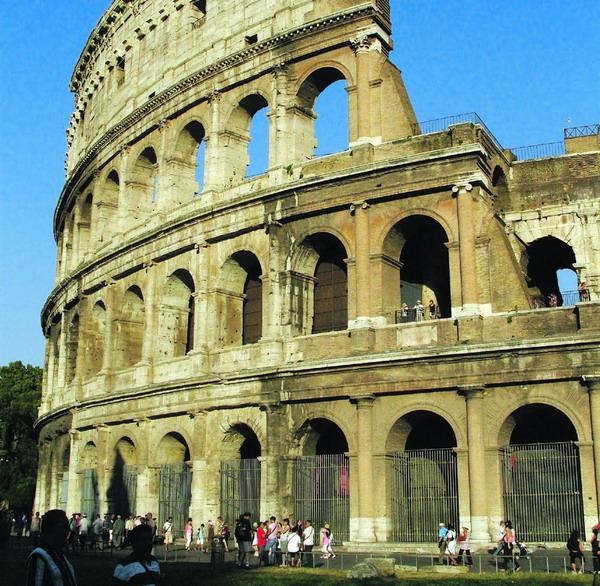 Das Kolosseum in Rom wurde im Sommer 2007 zu einem der neuen Sieben Weltwunder gewählt