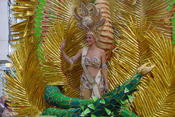 Reina de Carnaval 2008 - Die Karnevalskönigin von Puerto de la Cruz