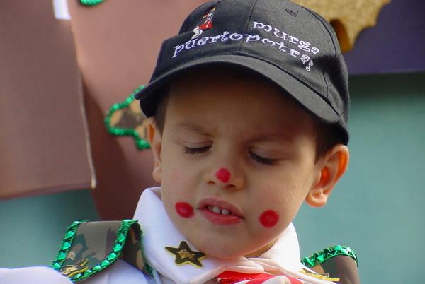 Kinder sind ein fester Bestandteil im Karneval auf Teneriffa