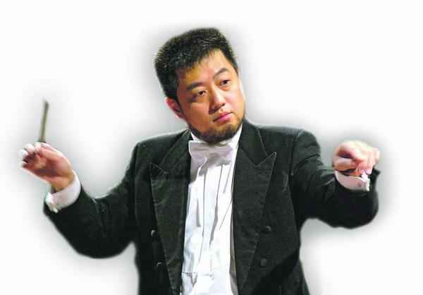 Lü Ji ist Dirigent mit Leib und Seele