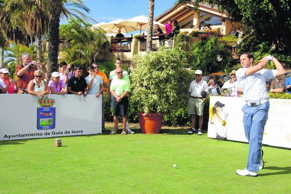 Sergio García eröffnete die zweite Ausgabe des Golfturniers im Abama in Guía de Isora