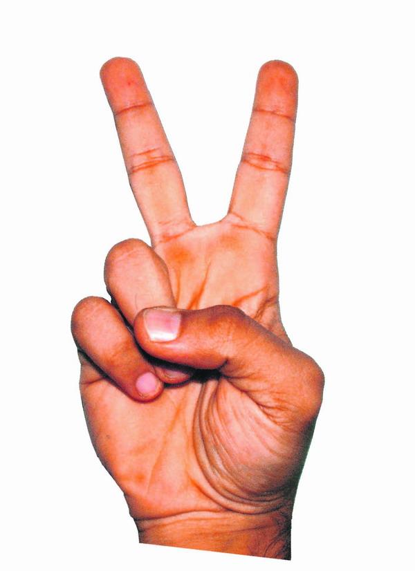 Mit dieser Geste macht man sich in Australien keine Freunde. Sie bedeutet nämlich 'Hau ab!'