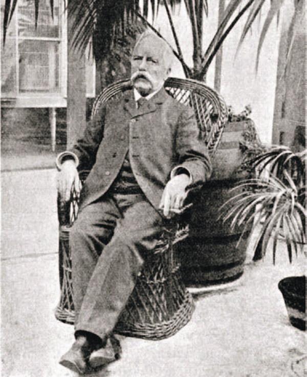 Hermann Wildpret war in den Jahren zwischen 1860 und 1894 Leiter des Botanischen Gartens.