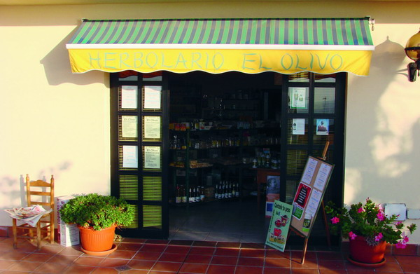 The shop offers a range of excellent natural products and treatments