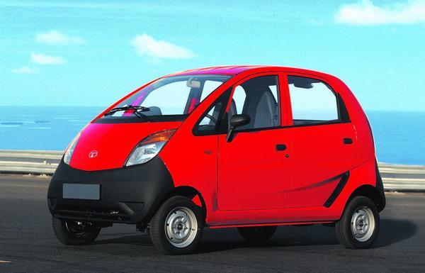 Der Tata Nano wird Ende des Jahres in Indien erhältlich sein.
