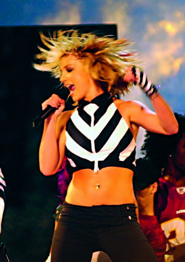 Britney Spears, a poster girl for the fast lane?