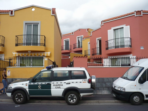Guardia Civil vor Ort