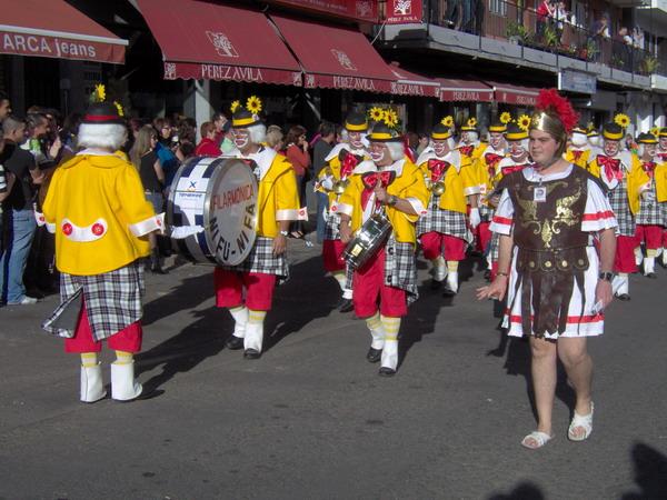 Großer Karnevalsumzug in Santa Ursula 2008