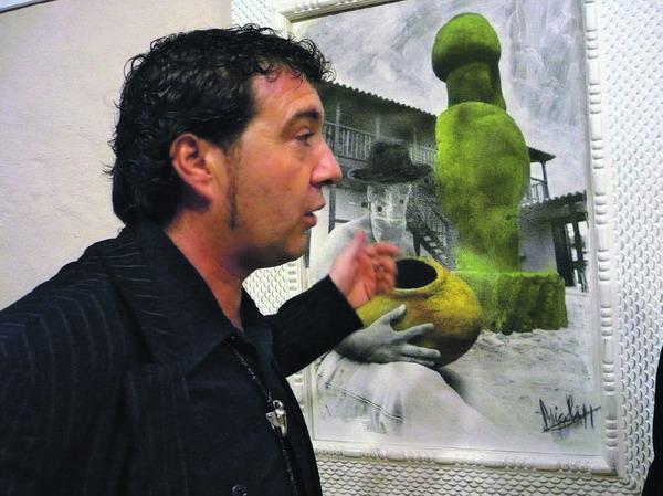 "Michi Rodríguez Gonzales eröffnet seine Ausstellung ""La cultura de la Naturaleza"""