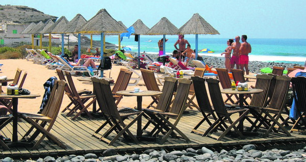 In La Caleta soll der Strand erneuert werden