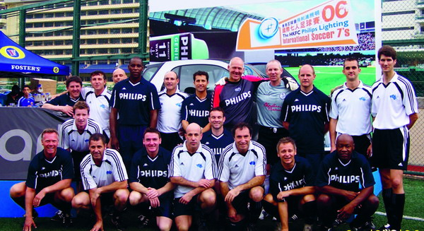 Soccer Experience players at a previous Asian tournament