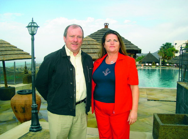 Martina Bowe and Brendan Clarke, Failte in Tenerife