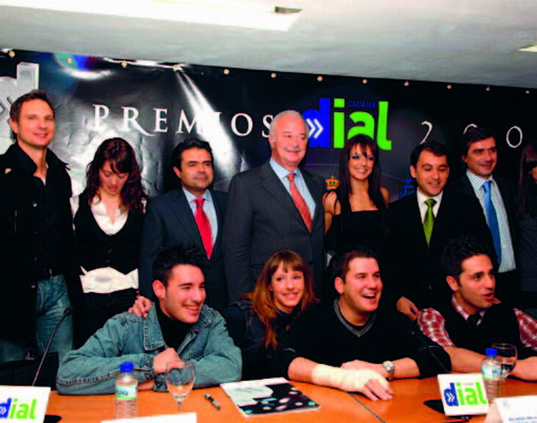 Some of the artistes came together with Tenerife politicians to announce the event
