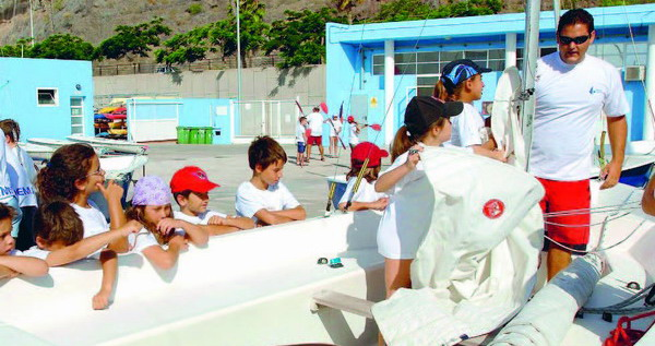 Die Kurse vom Inselzentrum für Wassersport Cidemat erfreuen sich immer größerer Beliebtheit