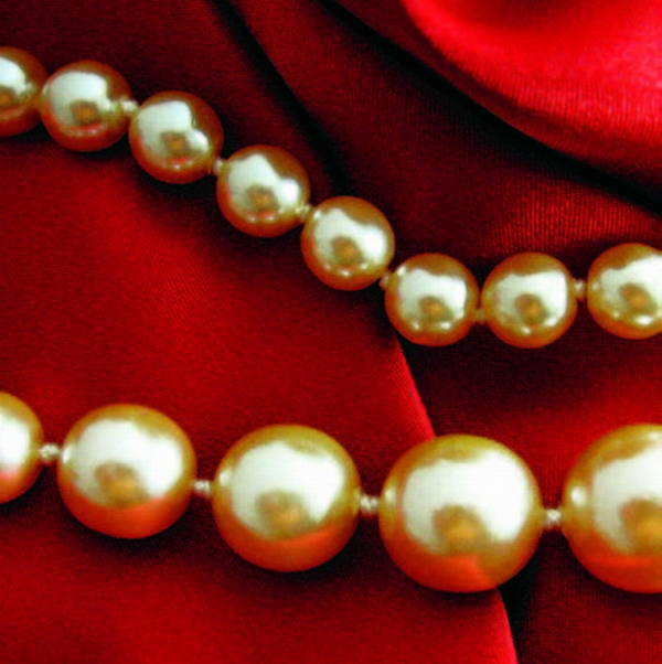 Inside was the necklace of pearls