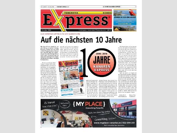 10 Jahre Kanaren Express.