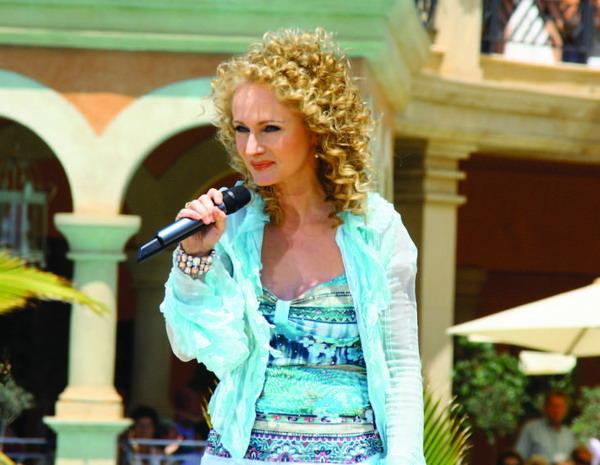 Der Auftritt von Schlagersängerin Nicole war nur einer von vielen Höhepunkten