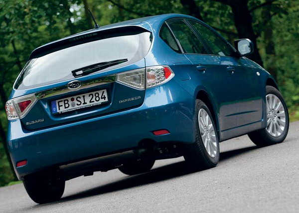 The Impreza has taken on a sophisticated sporty hatchback style to give a feeling of freedom and agility