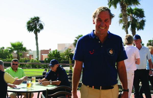 Sportkommentator Jörg Wontorra organisierte das Wohltätigkeits-Golf-Tournier auf Teneriffa bereits zum zweiten Mal
