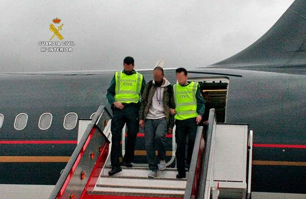 Der Palästinenser saß bei dem Zugriff bereits im Flugzeug von Madrid nach Jordanien.