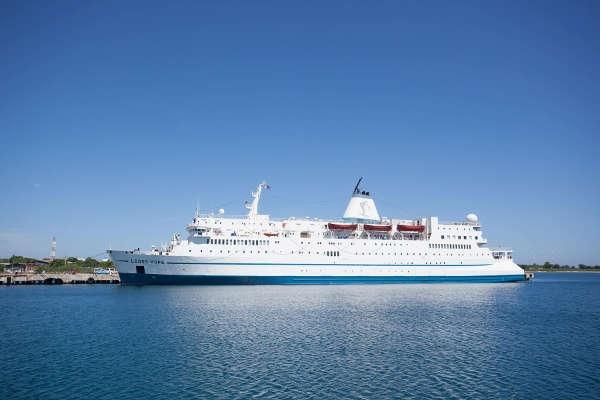 """An Bord der """"Logos Hope"""" sind über 400 Freiwillige aus 50 verschiedenen Ländern."""
