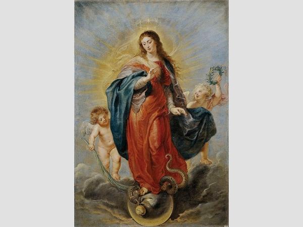 Unbefleckte Empfängnis von Peter Paul Rubens.