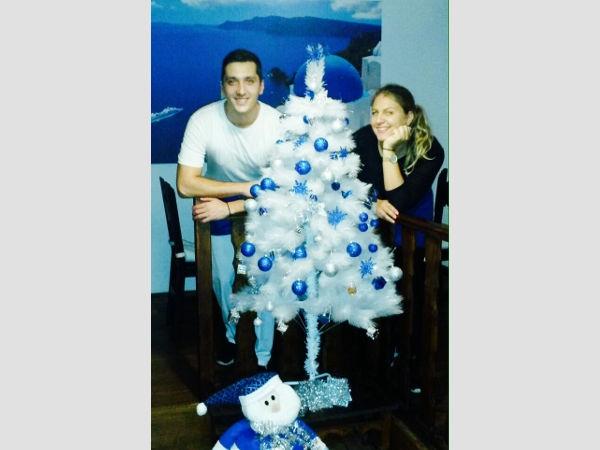 Weihnachten feiern mit Mimi und Marko.