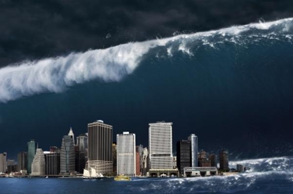 Fotos, wie diese, wurden im Zusammenhang mit der Story über den Tsunami von La Palma veröffentlicht.